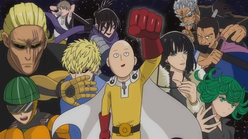 One Punch Man Anime