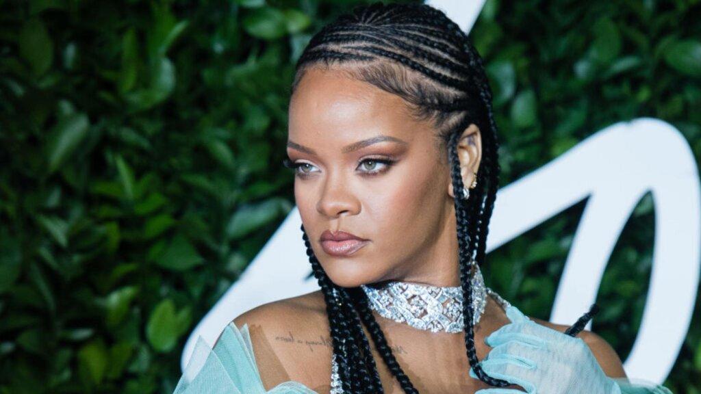 Rihanna Grammys 2021