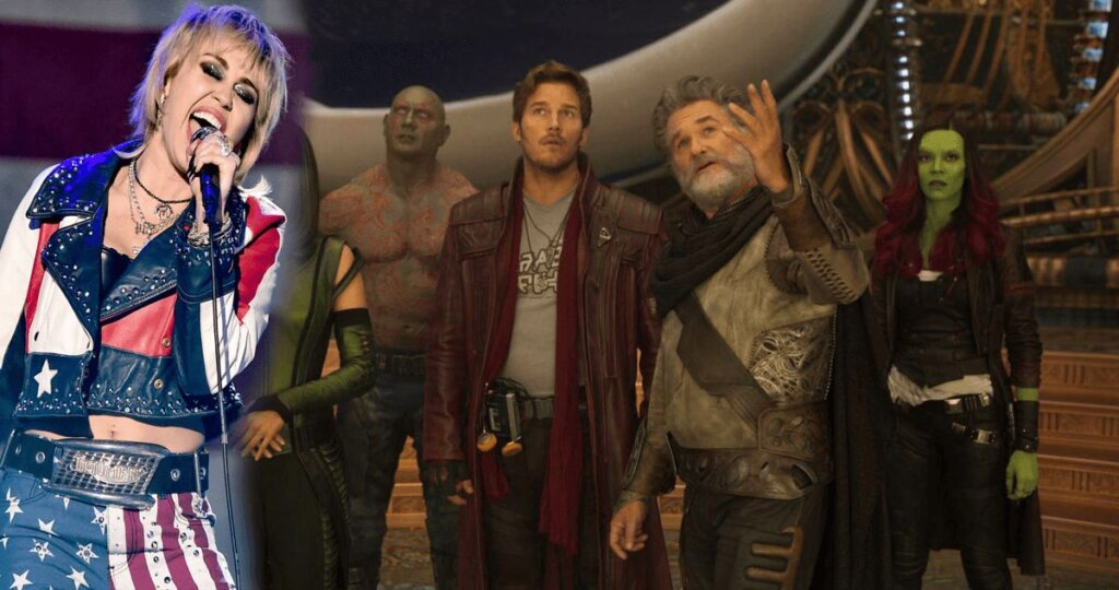 Miley Cyrus Guardian of the Galaxy