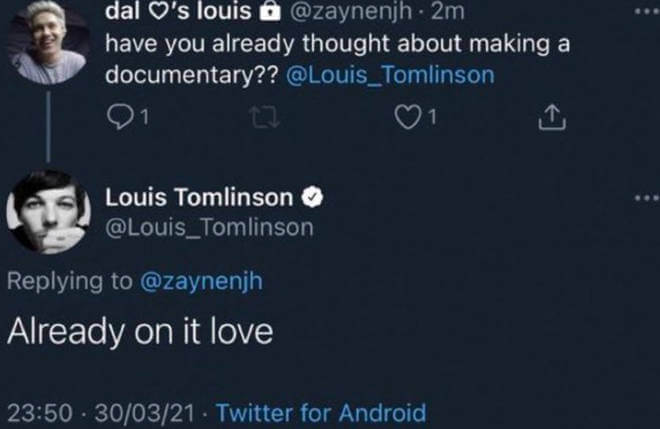 Louis Tomlinson's Upcoming Documentary