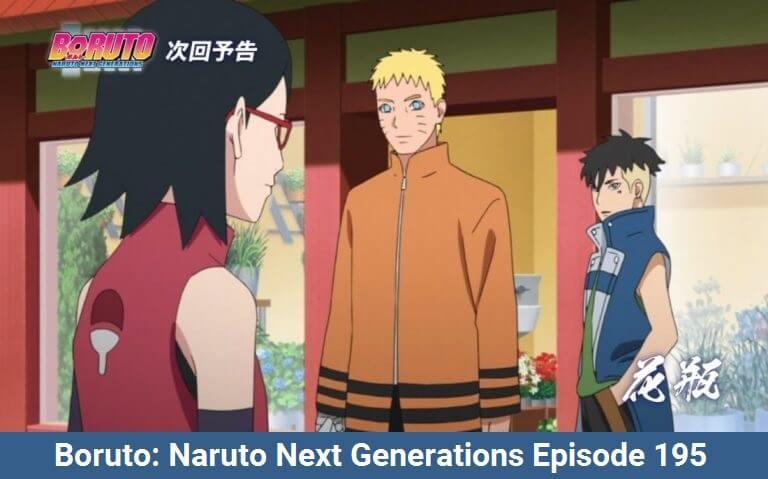 Boruto: Naruto Next Generations Episode 195