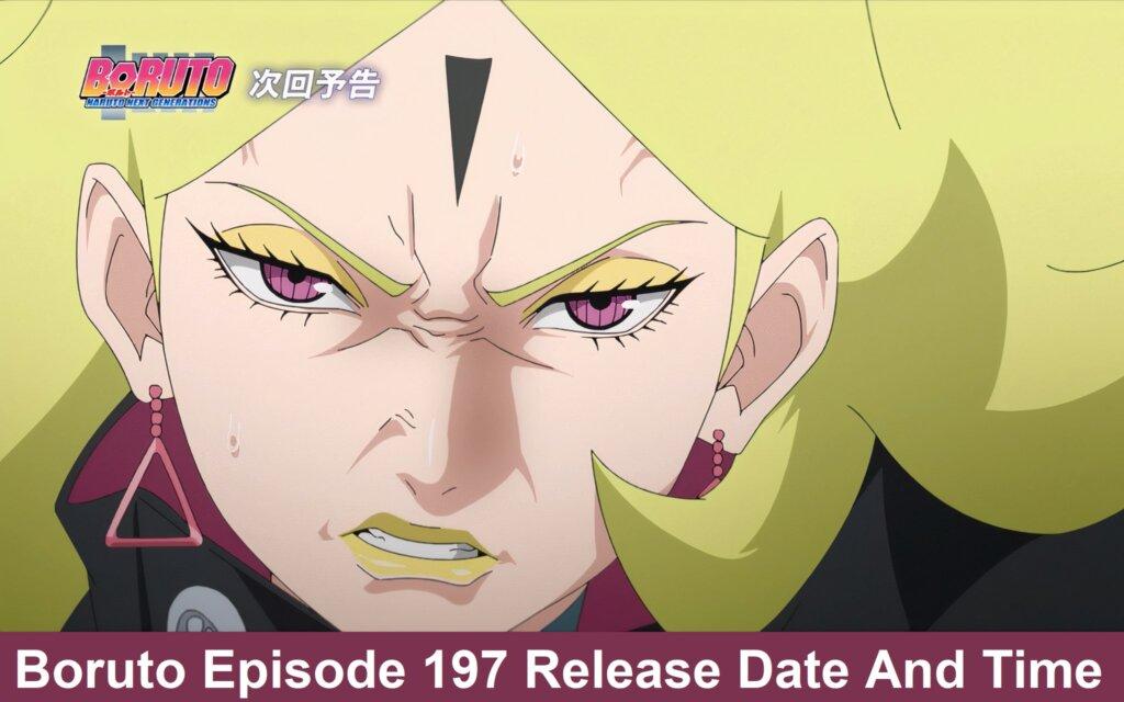 Boruto: Naruto Next Generations Episode 197