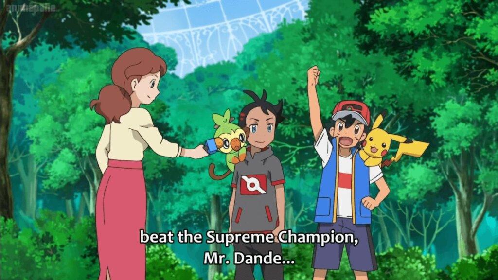 Pokémon Journeys Episode 63