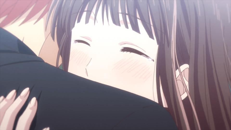 Kyo and Tohru (Fruits Basket Season 3 Episode 11)