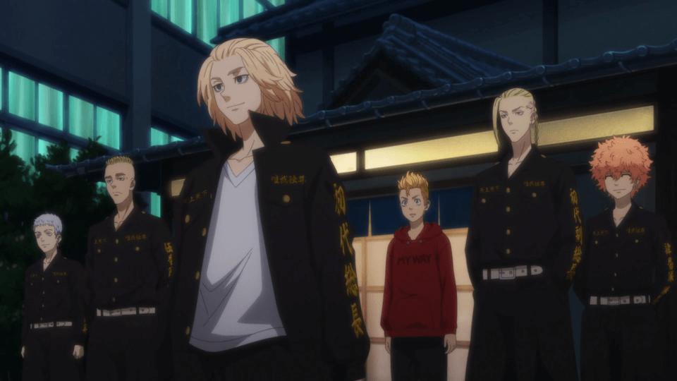 Takemichi as 3rd division captain (Tokyo Revengers Episode 13)