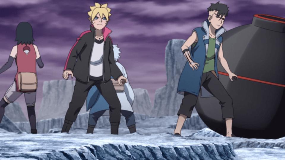 The New Team Seven (Boruto Episode 206)