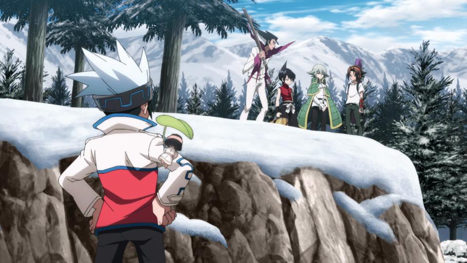 Full gang of Hao (Shaman King Episode 15)