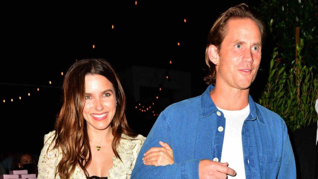Sophia Bush and Grant Hughe