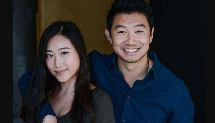 Simu Lui's girlfriend in 2021