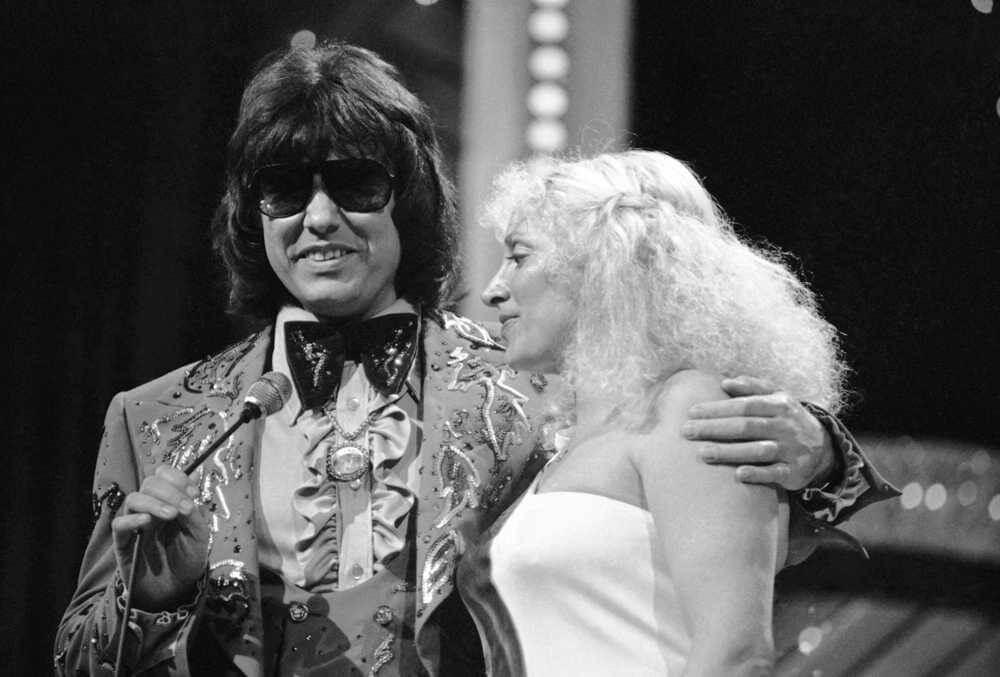 Joyce Milsap and Ronnie Milsap