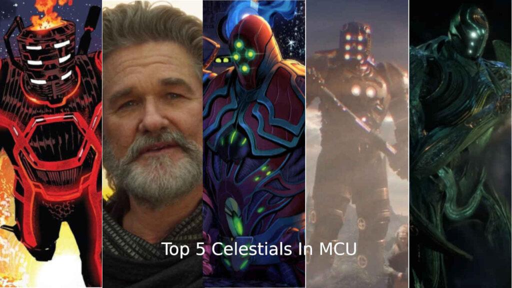 Top 5 celestials in MCU