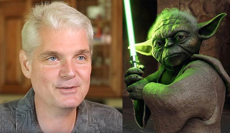 Yodu's voice actor Tom Kane