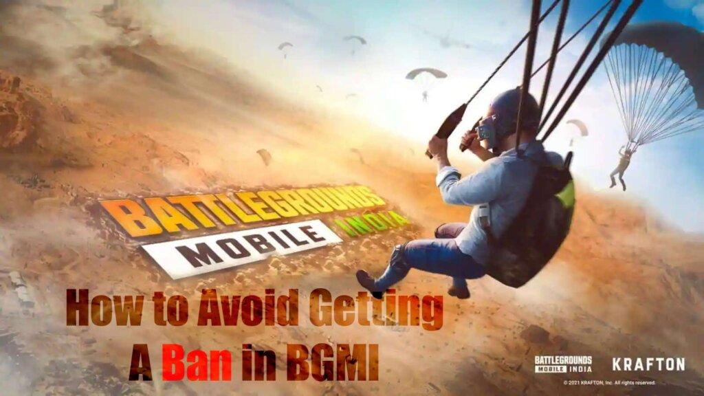 BGMI Ban