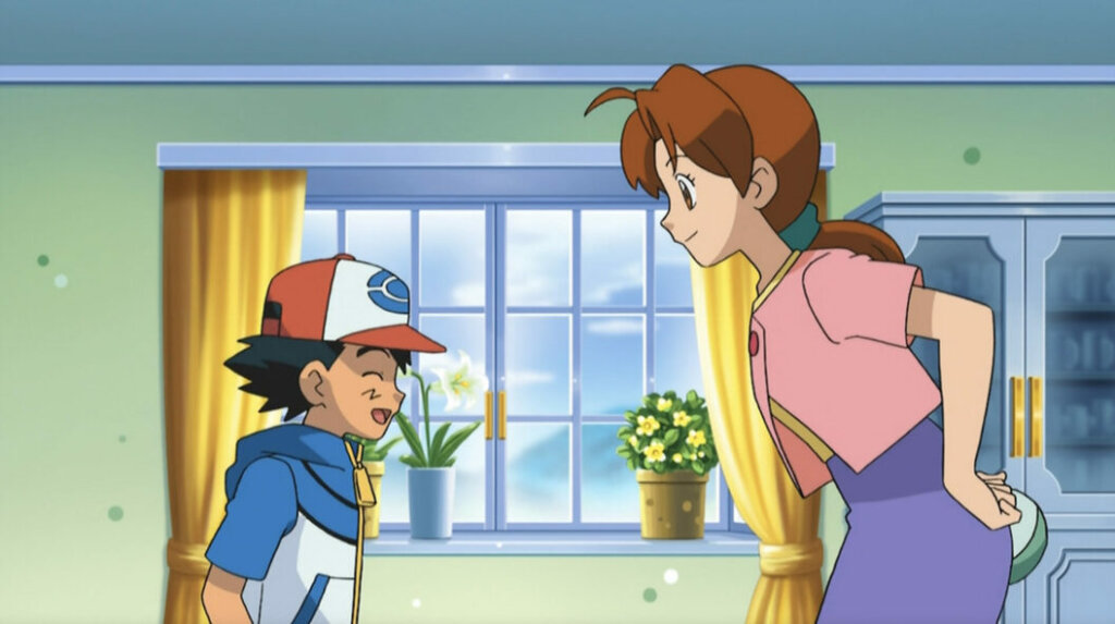 Ash's mother