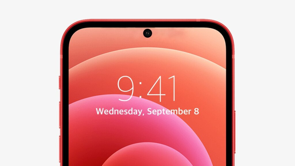 iPhone 14 punch hole