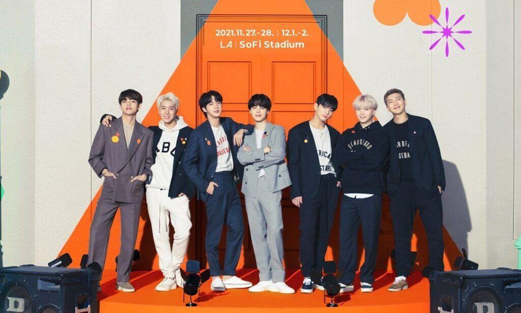 BTS Concert ticket