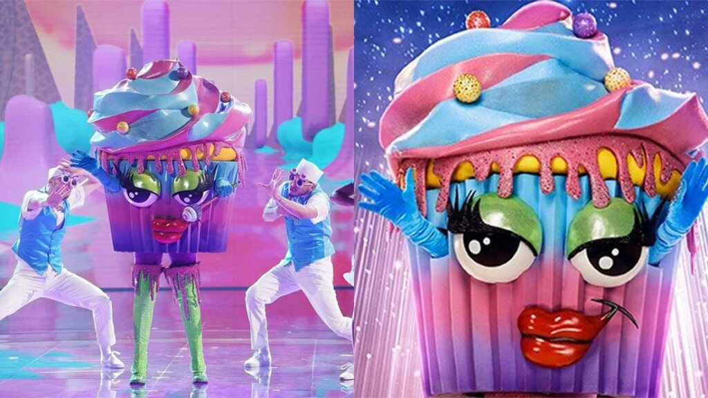 The Cupcake in The Masked Singer Season 6